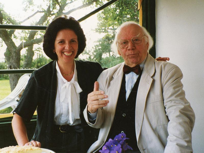 Prof.Conrad Hansen em Hamburgo